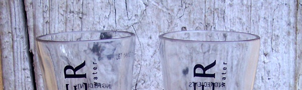 Close up of the rims of the drinking glasses we make - satin smooth, and delicate on the lips