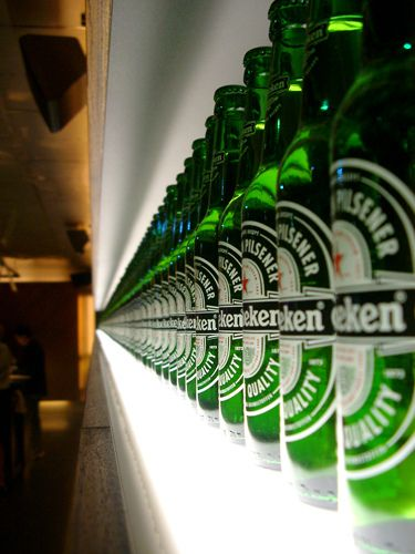 Heineken. No 1. beer brand in the world. #greetingsfromnl