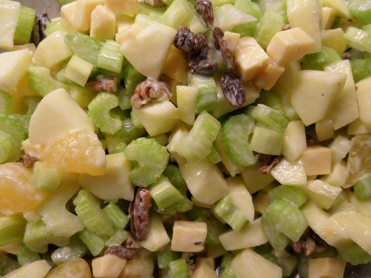Lekkerste recept bleekselderij salade - Hobby