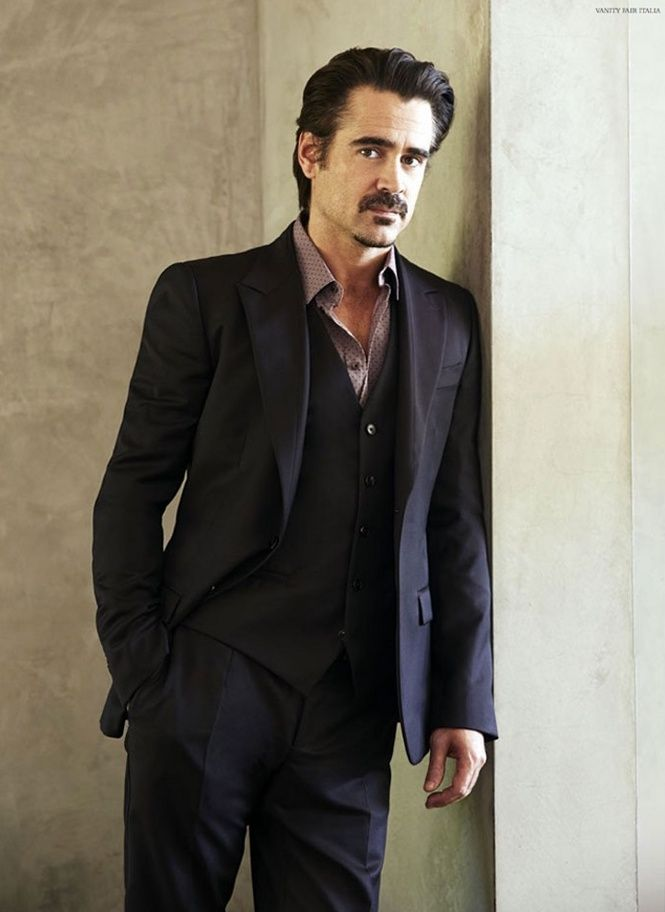 Colin Farrell for Vanity Fair Italia, January 2015