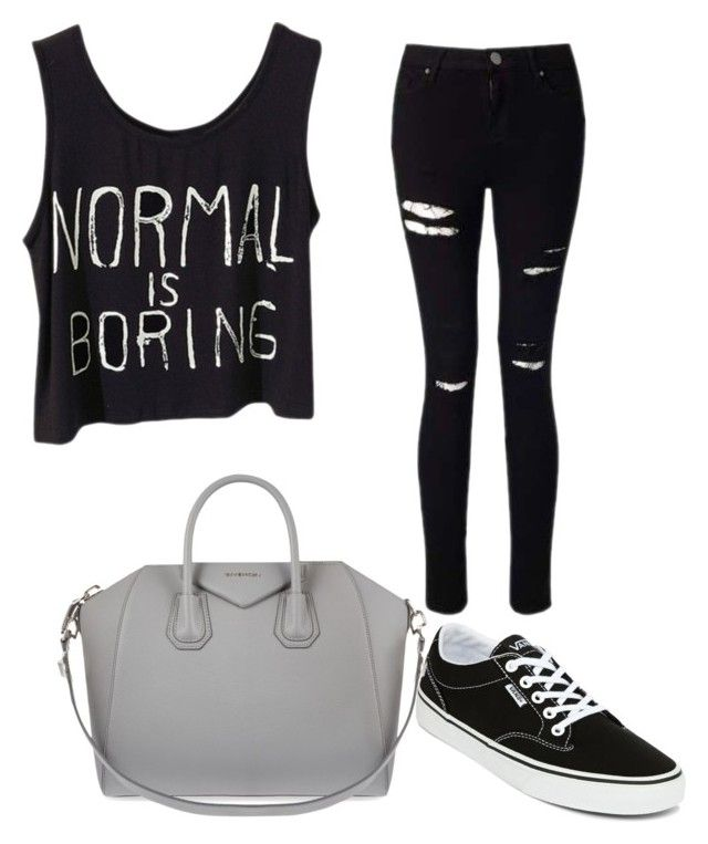 """""""Best"""" by josiasashlee on Polyvore featuring Miss Selfridge, Vans and Givenchy"""
