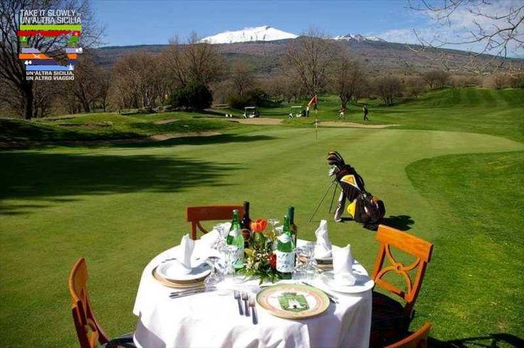 Etna Golf i Quad - Aktywna Turystyka! Wycieczka zadedykowana dla golfistów oraz dla tych co kochają ekskursje na pokładzie quoda. Na podnóżach Etny możecie zagrać w golfa oraz zrelaxować się. Dla smakoszy przygotowaliśmy wizytę w kantynie winiarskiej, degustacja wina DOP oraz delicji regionalnych. #ekoturyzm #Sycylia #podróż #święto #wycieczki #Kuchnia #unaltrasicilia #Ekowystarczalnie #trekking #aktywnaturystyka #etna