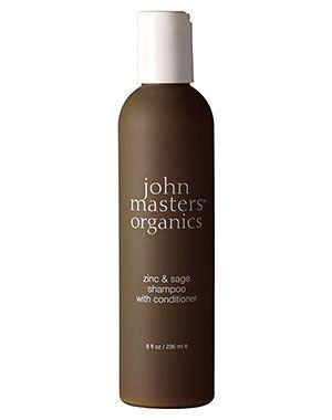 John Masters Zinc Sage Shampoo & Conditioner bei Schuppen, Juckreiz und Schuppenflechte...