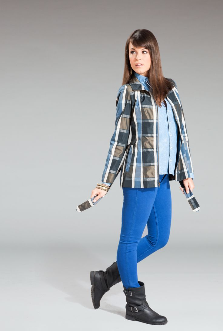 #girl #moda #style #blue #spring #summer #cool #fashion #sexy #mood #blue #raincoat #textures