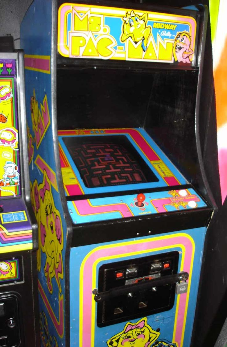 Ms Pacman Cabinet 21 Best Images About Bringing Old School Back On Pinterest Retro