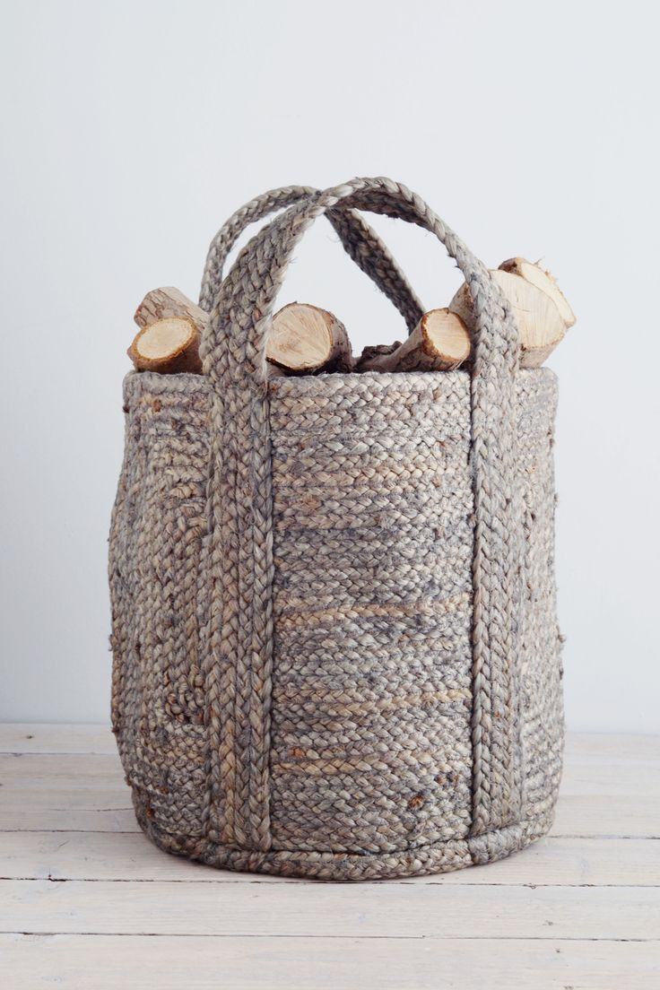 This basket is perfect for homes with more compact fireplaces and will hold enough logs for a whole night snuggled by the fire - very hygge. It's also ideal for laundry, toys or towels. Find more hygge decor inspiration at housebeautiful.co.uk