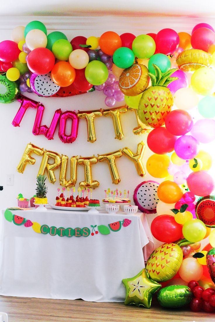 Nat your average girl…: TWOtti Fruity Party