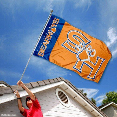 Sam Houston State Bearkats SHSU University Large College Flag by College Flags and Banners Co.. Save 25 Off!. $29.95. This Sam Houston State Bearkats SHSU University Large College Flag measures 3x5 feet in size, has quadruple-stitched fly ends, is made of durable 100% Nylon, and has two metal grommets for attaching to your flagpole. The screen printed SHST logos are Officially Licensed and Approved by Sam Houston State and are viewable from both sides with the opposite side being a reverse…