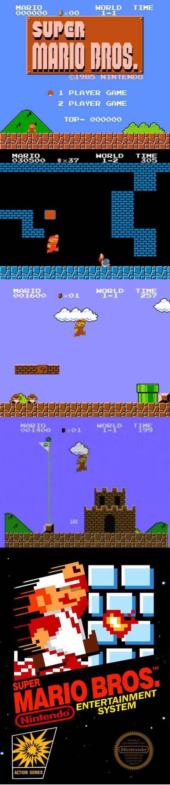 """#RetroGamer #SuperMarioBros. """"Do do do do do do do do do, DO DO DO DO DO DO DO DO DO, do do do do do"""" """"Da da daat da daa dee daa da da, da da daa da da dat!"""" http://www.levelgamingground.com/super-mario-bros-review.html"""