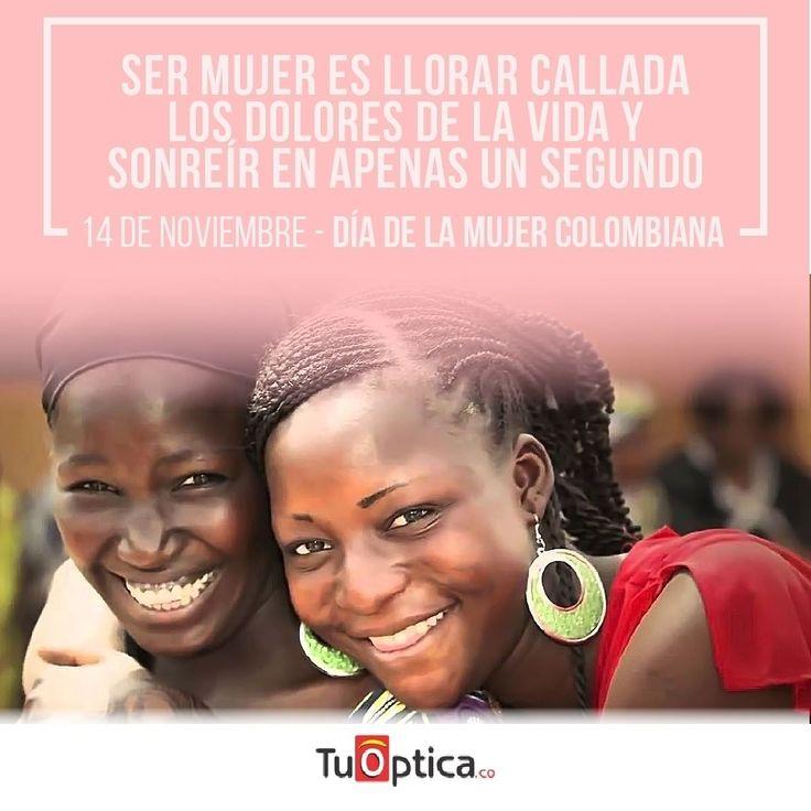 Nuestro RESPETO y ADMIRACIÓN por todas las MUJERES LUCHADORAS que pelean día a día por sacar sus FAMILIAS adelante. @tuoptica_co celebra  en este día especial la pujanza de la mujer Colombiana . Es por eso que #tuoptica.com durante esta semana obsequia 1 bono de $100.000 para redimir en cualquier compra en nuestros puntos oftalmologicos. Escribe a nuestro WhatsApp 3182064951 para solicitar este beneficio y puedes tag a todas tus amigas para que tambien sean beneficiadas. Condiciones: Oferta…