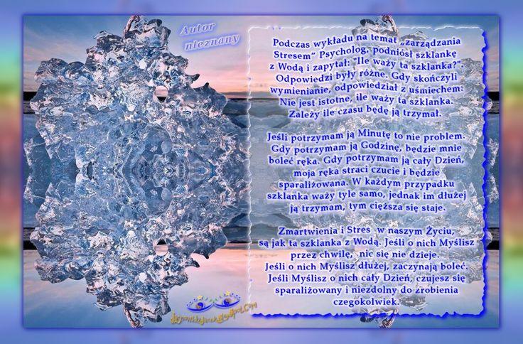 Tylko Ty zarządzasz Swoim Stresem Zmartwieniami Bólem Nikt Inny  www.JasnowidzJacek.blogspot.com