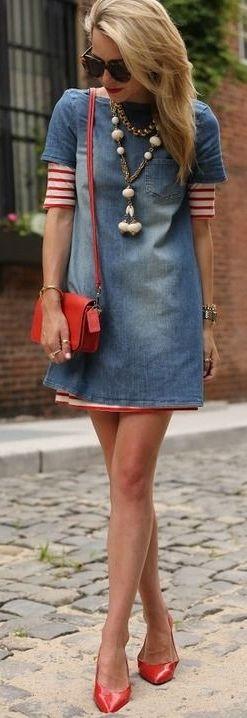 Denim Fashion Ideas For Fall                                                                                                                                                                                 Mehr