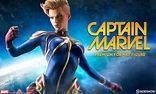 Captain Marvel Premium Format Figure | Sideshow Collectibles