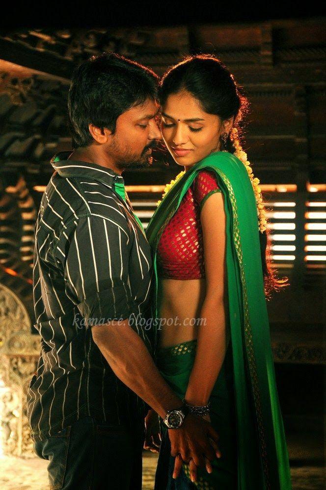 Kama Scenes Tamil Girl Hot Kiss In Tamil Movie  Tamil -8613