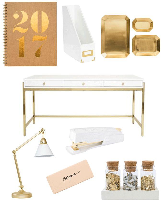 Sugar Paper/Target Desk Accessories   courtneydrew.com