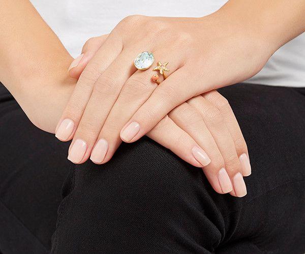 LOVE. Eponym Open Ring from #Swarovski