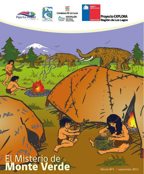 """""""El misterio de Monte Verde"""", guión e ilustración Walter Velásquez, asesoría científica Mg. Pablo Fábregas"""