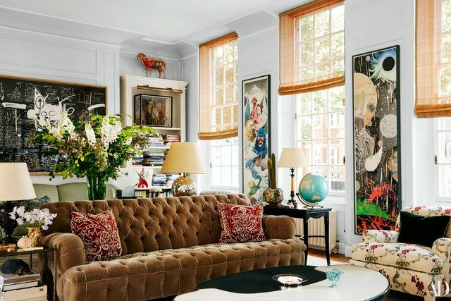 A Look Inside The Century Old Home Living Room Interior London Townhouse Rectangular Living Rooms