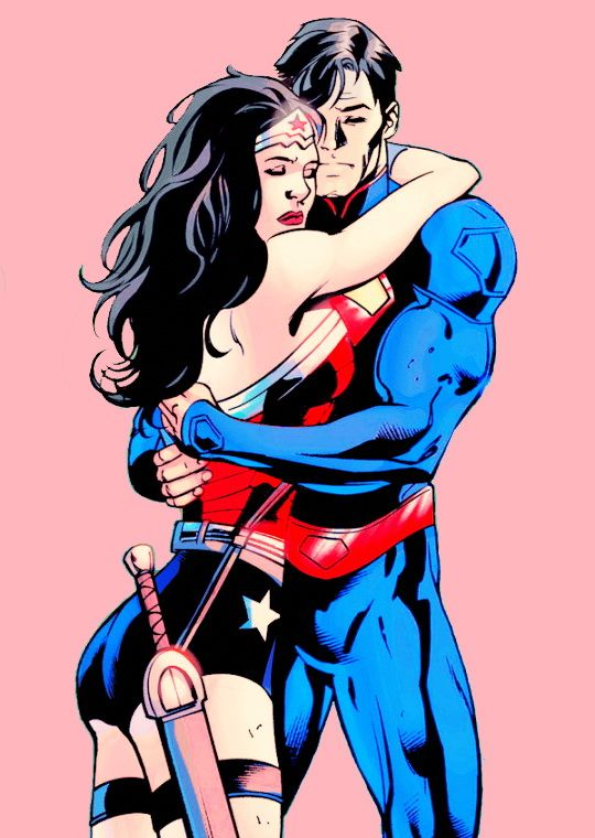 585 best trinity images on pinterest batman vs superman - Superman wonder woman cartoon ...