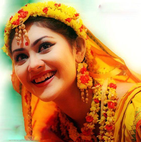 Gaye Holud | Bengali Holud And Wedding | Pinterest