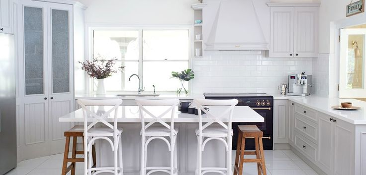 Kitchen transformed with paint and practical design choices