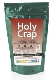 HolyCrap Canada Front 2013This stuff is excellent. It tastes good with the raisins and apples.  Love how natural it is...and you know, HOLY CRAP!