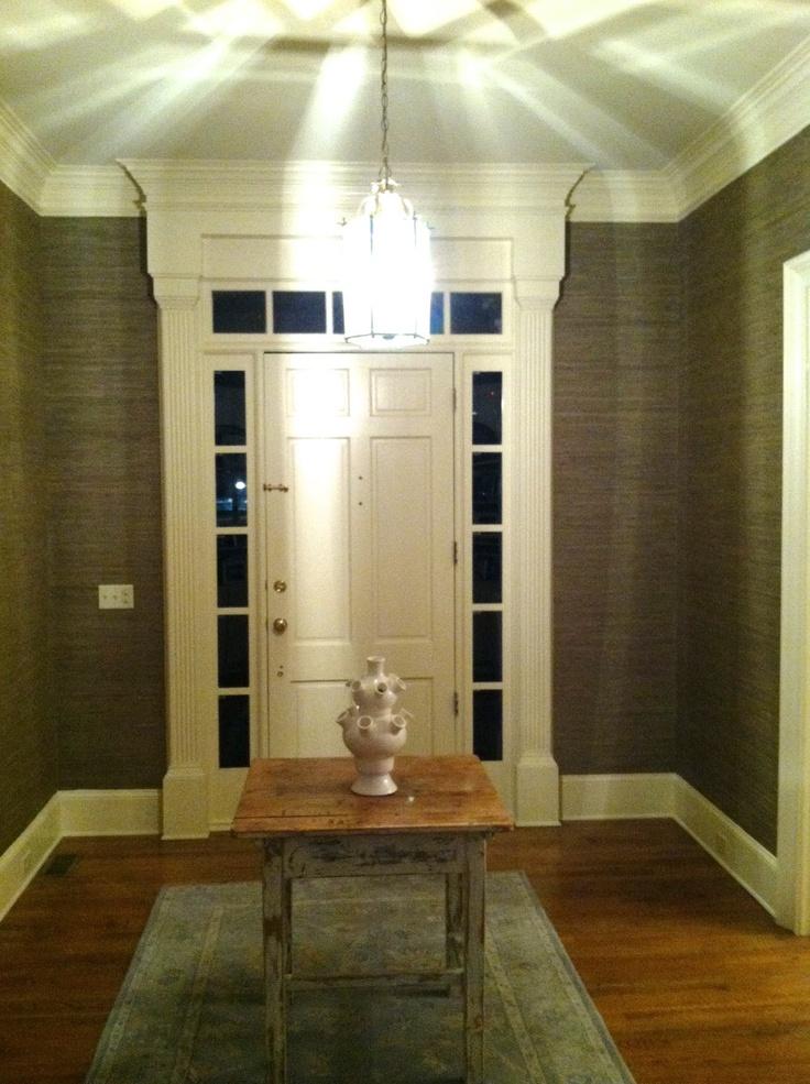 Foyer Wallpaper Nz : Ideas about seagrass wallpaper on pinterest