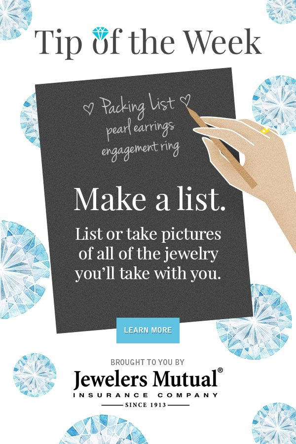 17 Best images about Jewelry Tips with Jewelers Mutual on ...