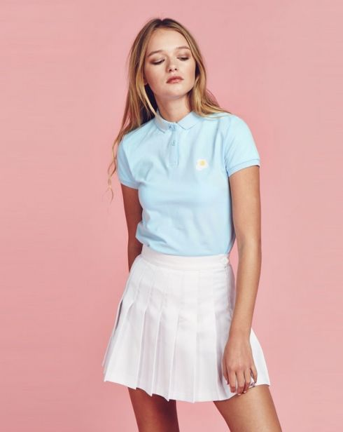 Lazy Oaf Egg Polo Shirt - Clothing - NEW IN - Womens