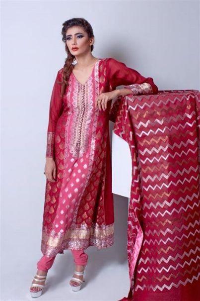 Ladies Fashion Eid Fancy Dresses By Silkasia 6 Silkasia Most Demanded Eid Dresses 2014 for Girls