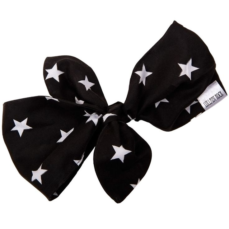 Lullaby Rock_Rockin_Star_Adjustable_Headband_Black *Shop online at: www.lullabyrock.co.za