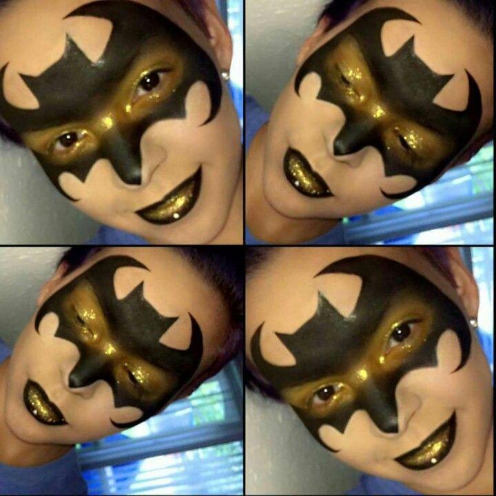 Batwoman Eye Makeup