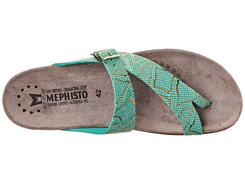 2018 stylish destroyed Mephisto Women's Helen Womens Mint Nairobi Mephisto Womens Sandals