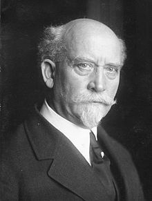 Philipp Scheidemann (26 July 1865 – 29 November 1939) was a German politician of the Social Democratic Party of Germany (SPD). During the German Revolution of 1918–1919 he proclaimed Germany a republic on 9 November 1918 and subsequently became the second Chancellor of the Weimar Republic, acting in this post for 127 days.