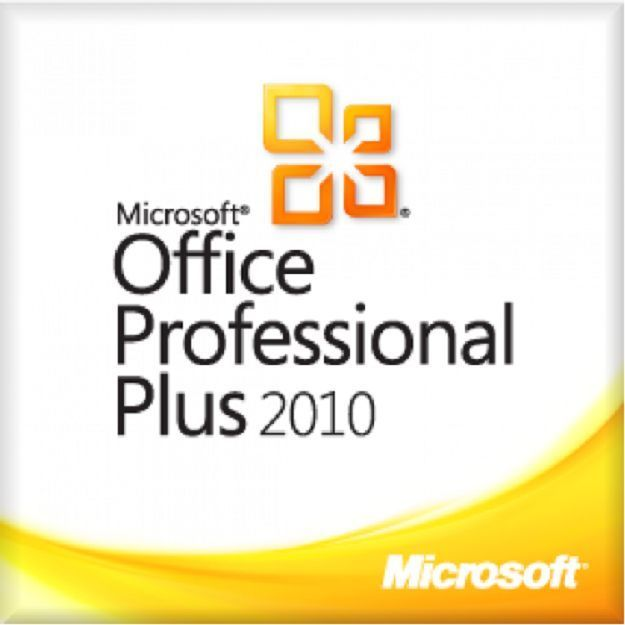 Windows Office 2010 Professional Plus 32/64 Bit Vollversion