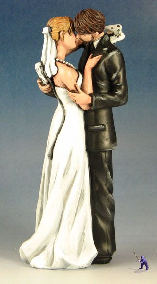 cake-top-gamers  Geek Wedding Cake Toppers 1  Specialty Cake Toppers by Garden Ninja Studios