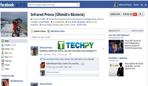 How to remove Facebook Timeline?