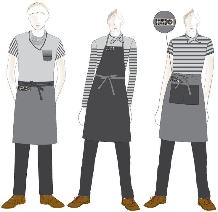 The 25+ best Restaurant uniforms ideas on Pinterest | Cafe ...
