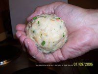 German dumplings especially from Bavaria are a real specialty. You would eat dumplings always with a meat dish and gravy, like Rindsbraten (Roast beef), Gulasch or Rouladen (see my recipes). The Ba…