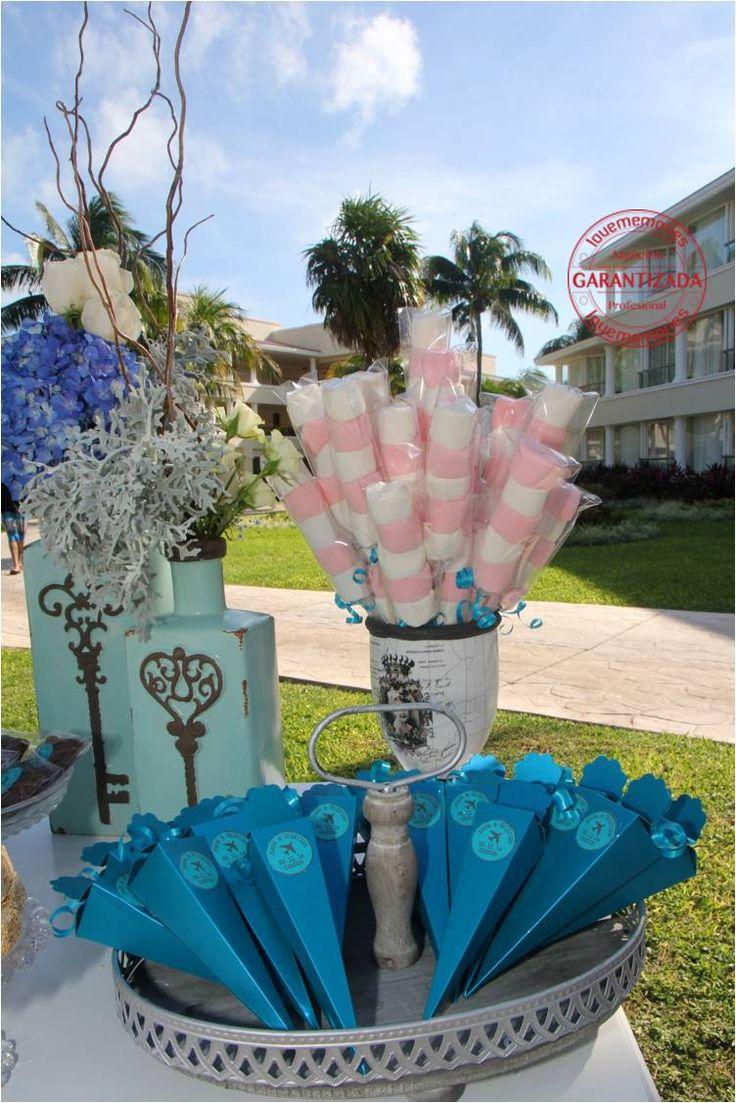 Brochetas de bombones y conos personalizados #LMcandybuffet