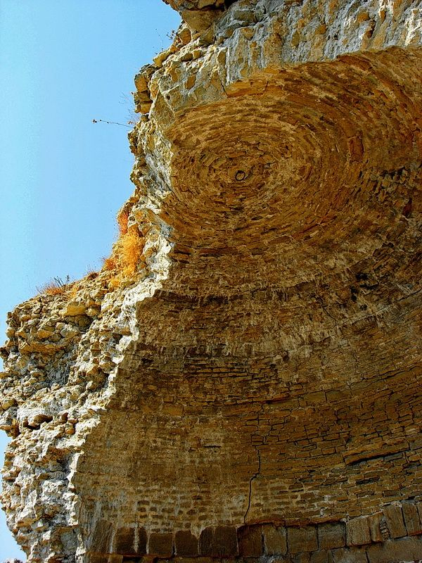 Seddülbahir Kalesi güney kulesi kubbesi..  Seddülbahir fotoğrafları / Seddülbahir Fortress south tower dome.. Seddülbahir photos