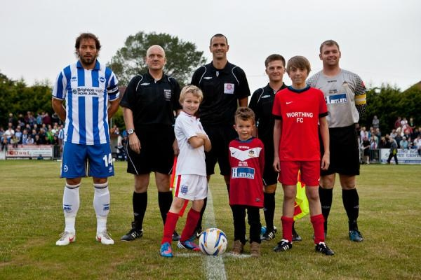 @BHASnappy  Promised a proud Mum I'd tweet out the official line up photo from tonights #BHAFC v Worthing match, so here it is!