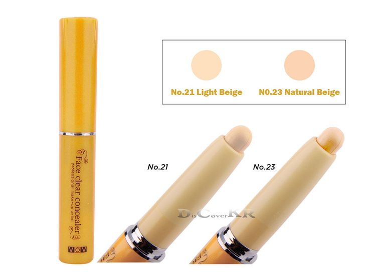 VOV Concealer Cover Stick Corrector Foundation-Tracking Number #VOV #KoreaCosmetics