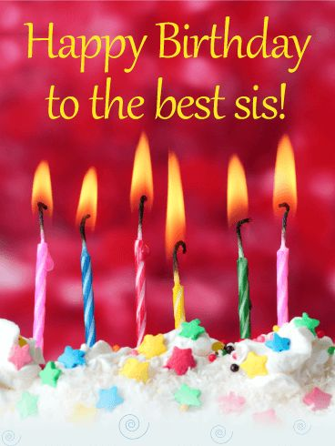 Best 25 Happy Birthday Sister Ideas On Pinterest