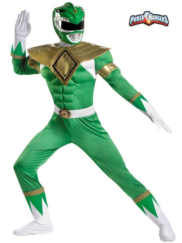 Check out Green Ranger Muscle Costume - Mens Power Rangers Costumes from Costume Super Center