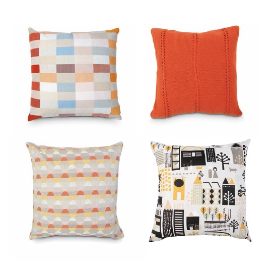 CITTA DESIGN / Winter 2012 Collection / Tokyo: Collision of Contrasts / Cushion Covers  www.cittadesign.com