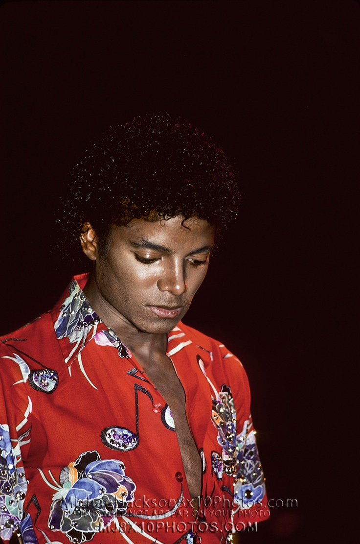 Michael Jackson on The Jacksons Triumph Tour 1981