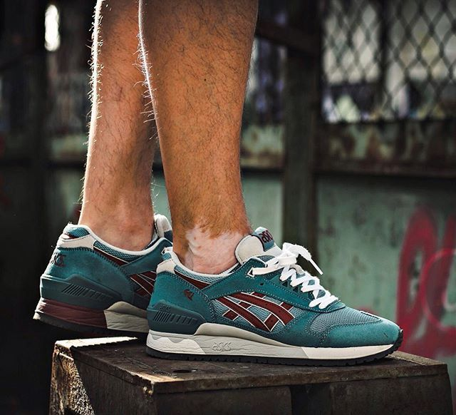 timeless design 89718 36754 ... sale asics gel respector goblin blue 43b58 40e4e