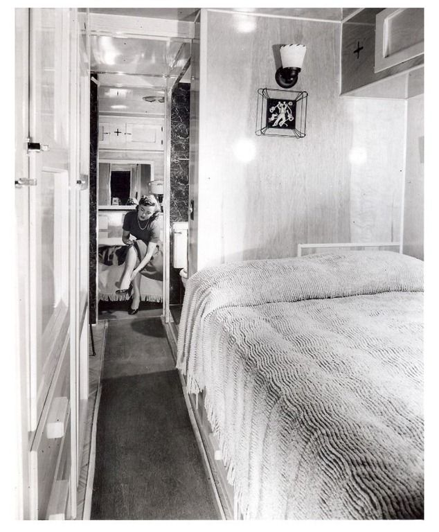 Mobile Home Manufacturers Association Pictures From The 1955 Annual MHMA Show In Cleveland