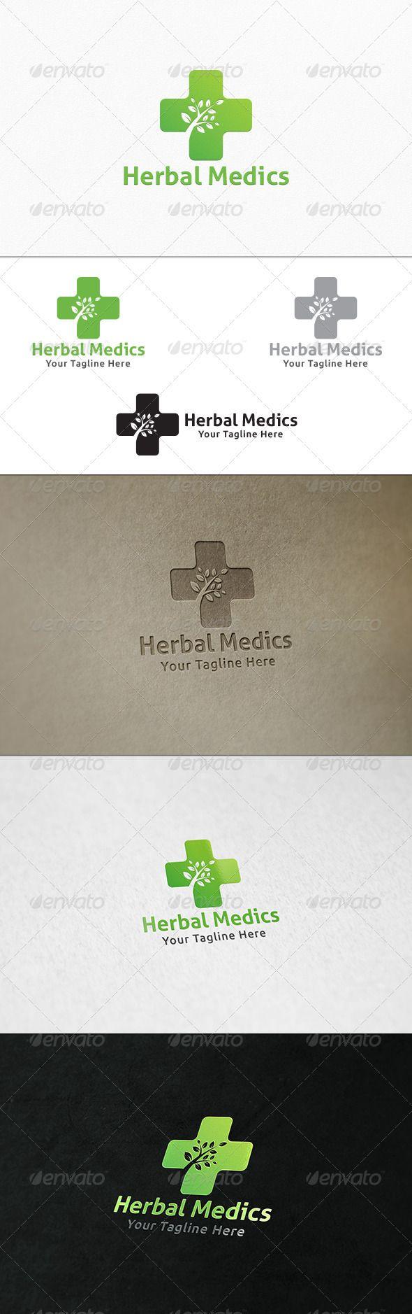 Herbal Medics - Logo Template